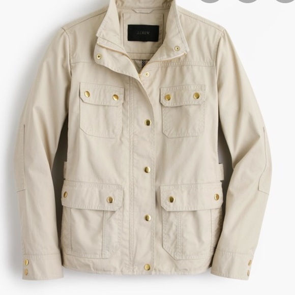 J. Crew Jackets & Blazers - J.Crew cream downtown field jacket XXS